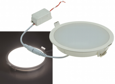 LED Licht-Panel , Ø 150mm, IP54 230V, 10W, 840 Lumen, 4200K/neutralweiß