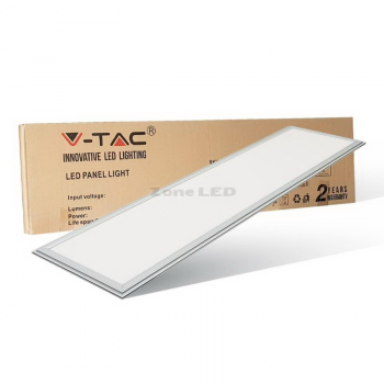 LED PANEL 1200 X 300 MM 45 W WEISS  6000K ohne Netzteil