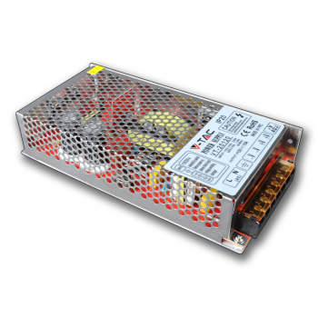 120W LED Trafo 10A 12V IP20 Gehäuse Metall